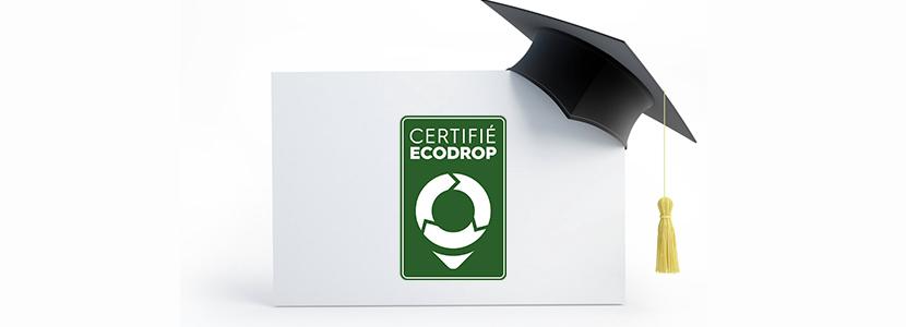 Avantage certification Ecodrop