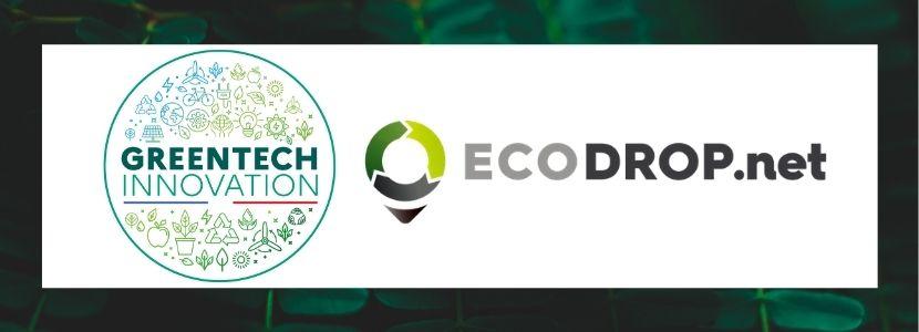 Ecodrop lauréat GreenTech Innovation